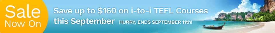 Save on Internationally Recognized TEFL Courses